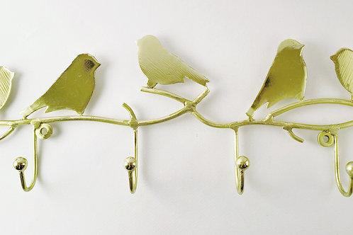 4er Vogelhaken gold