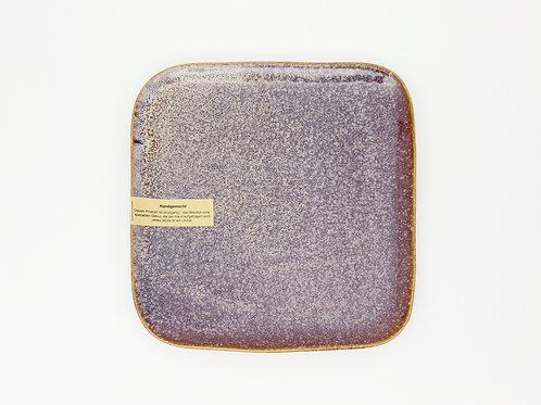Frühstücksteller violett