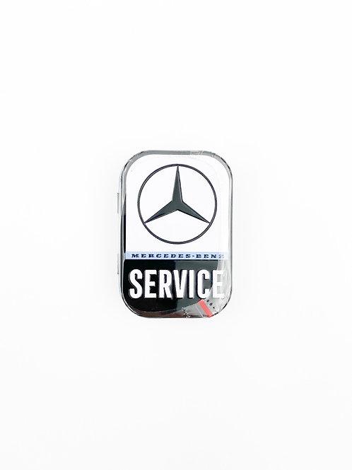 "Pillendose ""Mercedes Service"""