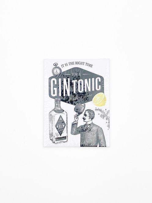 "Magnet ""Gin Tonic"""