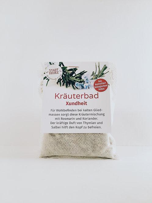 """Kräuterbad """"Xundheit"""""""