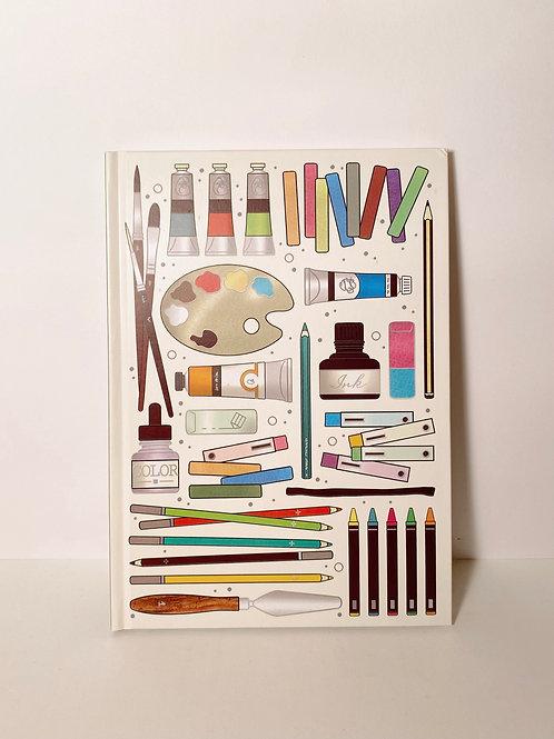 Notizbuch Kunst