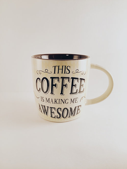 "Tasse ""Coffee Awesome"""