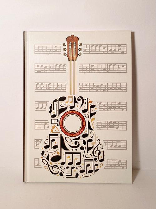 Notizbuch Gitarre