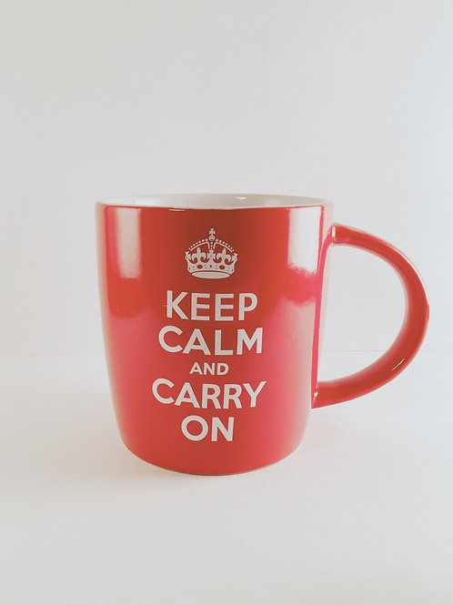 """Tasse """"Keep Calm And Carry On"""""""