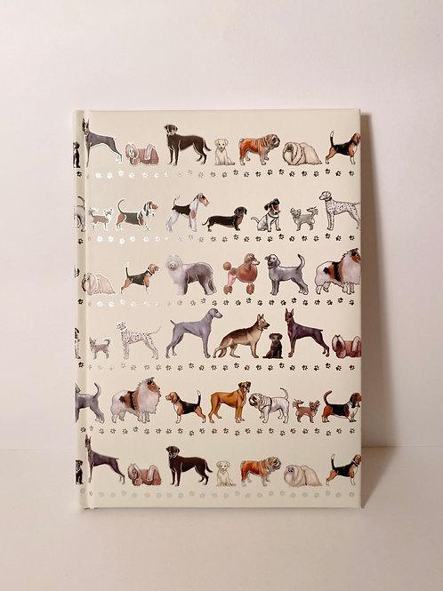 Notizbuch Hunde