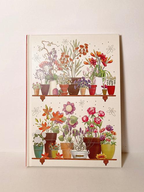 Notizbuch Blumen