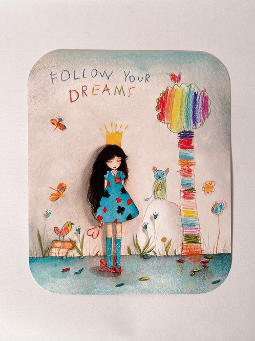 """Karte """"Dreams"""""""