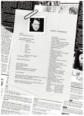Debut Tour Programme, Japan 1993 pg7
