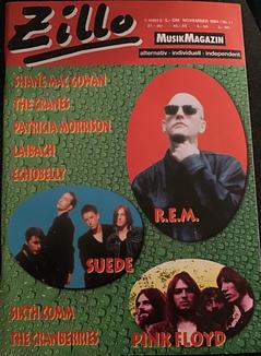 Zillo, November 1994 Cover