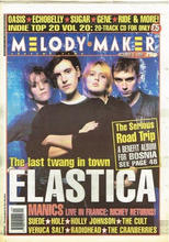 Melody Maker, 8 October 1994 Cover