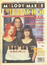 Melody Maker, 24 July 1993 Cover