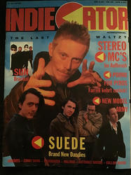 Indiecator, Germany, April 1993 Cover