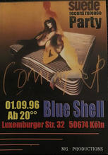 'Coming Up' Album Release Party, Cologne, Germany, 1 September 1996
