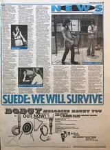 Melody Maker, 30 July 1994 pg5