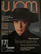 WOM Journal, Germany, September 1996 Cover