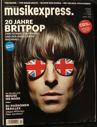 Musikexpress April 2012 Cover