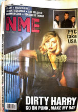 NME, 28 october 1989 Cover