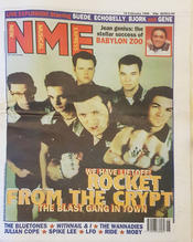 NME 10 February 1996 Cover