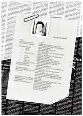 Debut Tour Programme, Japan 1993 pg10