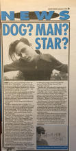 Melody Maker, 3 September 1994 pg3
