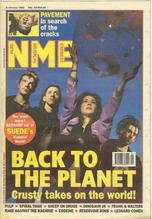 NME, 9 January 1993 Cover