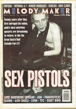 Melody Maker, 3 February 1996 Cover