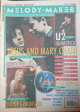 Melody Maker, 21 March 1992 Cover