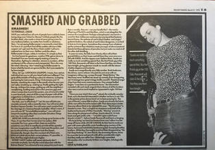 Melody Maker, 21 March 1992 pg15