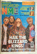 NME, 14 March 1992 Cover