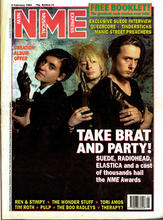 NME, 5 February 1994 Cover
