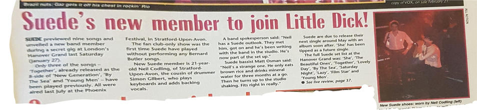 NME 10 February 1996