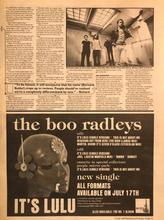 NME, 15 July 1995 pg13