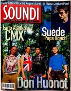 Soundi, Finland, August 2002 - Cover