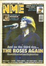 NME, 31 August 1996 Cover
