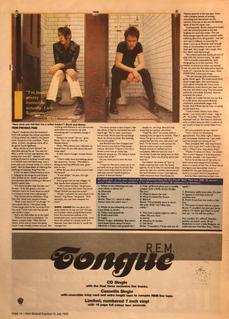 NME, 15 July 1995 pg14