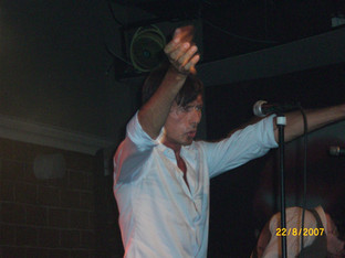 Brett Anderson at Zappa Club, Tel Aviv, Israel, 22 August 2007