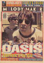 Melody Maker, 6 August 1994 Cover