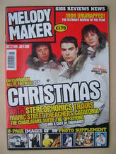 Melody Maker, 22 December 1999 - 4 January 2000, Cover