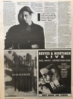 NME, 29 October 1994 pg34