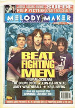 Melody Maker, 22 October 1994 Cover