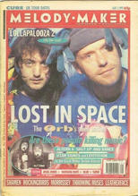 Melody Maker, 1 August 1992 Cover