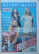 Melody Maker, 19 September 1992 Cover