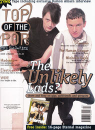 TOTP Magazine, March 1995 - Cover