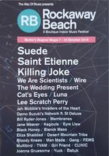 Mini programme content from Rockaway Beach, Butlin's Bognor Regis, England, October 2016