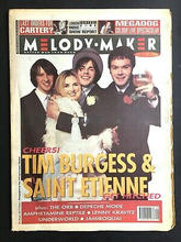 Melody Maker, 11 December 1993 Cover