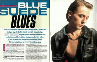 Slitz Magazine, Sweden, Issue 6, October 1994