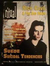 Ritual Magazine, Belgium, January 1995 Cover