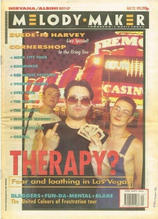 Melody Maker, 22 May 1993 Cover