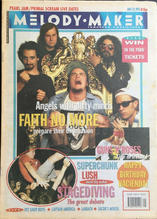 Melody Maker, 23 May 1992 Cover